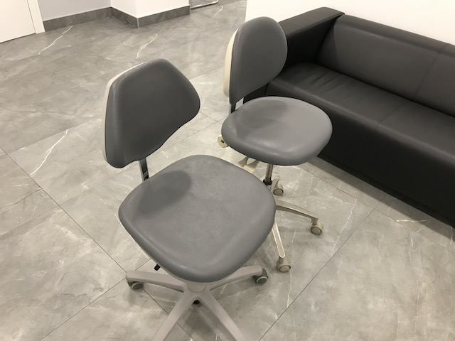 Перетяжка стоматологических стульев